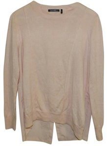 Daisy Fuentes Knit Chiffon Fall Casual Top Pink