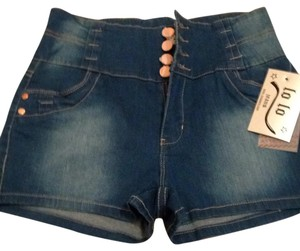 Lo lo Denim Mini/Short Shorts blue