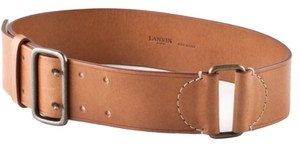 Lanvin LANVIN NEW Leather Belt Size S