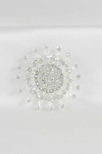 Your Dream Dress Exclusive 3sbr Silver Brooch Bridal Jewelry
