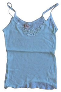 Hollister Applique Top Mint Green