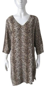 Moda International short dress Leopard Design Summer Attire on Tradesy