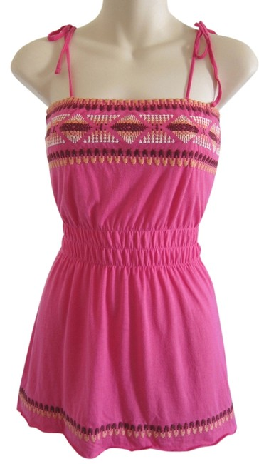 Preload https://item1.tradesy.com/images/sweetees-pink-bohemian-tunic-size-4-s-5026165-0-0.jpg?width=400&height=650