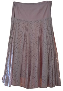 Chaudry Skirt Pink