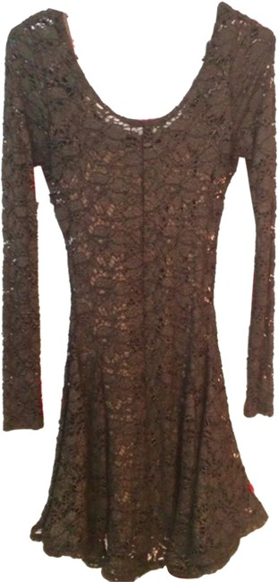 Betsey Johnson short dress black Lace Vintage Betsey on Tradesy