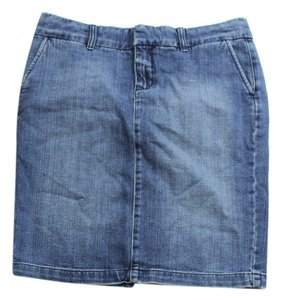 Juicy Couture Size L Size 12 Mini Skirt denim