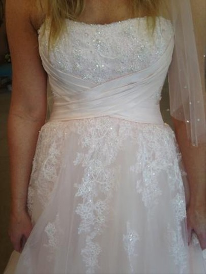 Perry Ellis 11286 Wedding Dress
