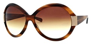 Oliver Peoples Oliver Peoples Sycamore Brown 'Harlot' Oversized Sunglasses