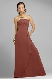 Alexia Designs Chocolate Brown Style 4000 Dress