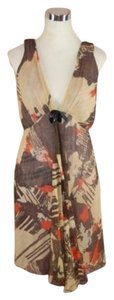Tracy Feith Silk Empire Waist Dress