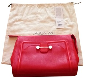 Jason Wu Coral Clutch