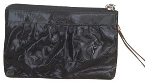 Coach Black Patent Clutch