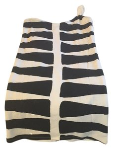 Monrow short dress Black & white zebra on Tradesy