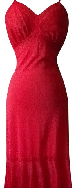 RED Maxi Dress by Vanity