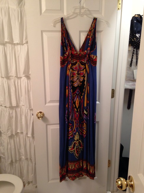 Blue Maxi Dress by Angie