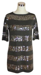 Nanette Lepore Sequin Shift Dress
