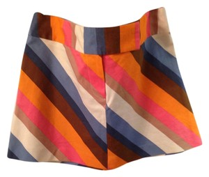 Trina Turk Mini Skirt Multi-Colored