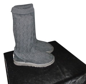 UGG Australia BLACK Sweater wool Boots