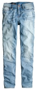 J.Crew High Waisted High Rise Skinny Jeans-Light Wash