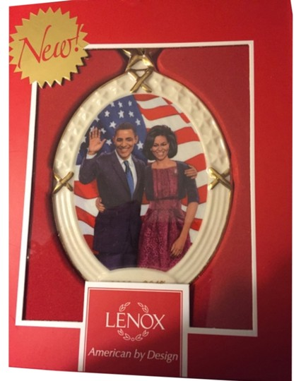 Preload https://item3.tradesy.com/images/creme-with-gold-accents-president-obama-and-the-first-lady-ornament-by-lenox-5030167-0-0.jpg?width=440&height=440
