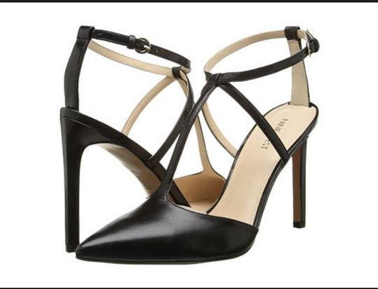 Nine West Trendy Heels Pump Date Night Night Out Black Sandals