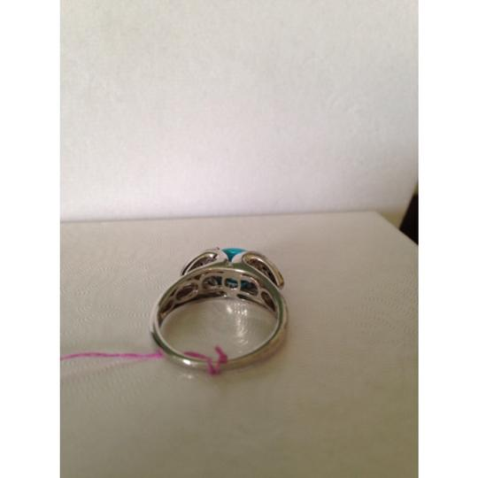Other Embellished by Leecia Blue Diamond & Turquoise Ring, Size 7