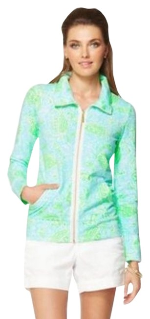 Lilly Pulitzer Leona Zip Up Sweatshirt