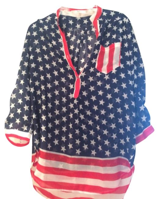 Item - American Button-down Top Size 8 (M)