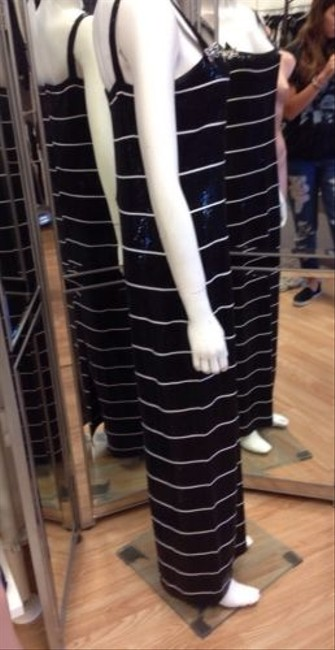 Black and White Maxi Dress by St. John Cocktail