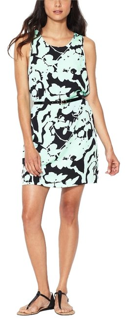Preload https://img-static.tradesy.com/item/5034856/the-letter-mint-and-black-shadow-floral-shift-above-knee-short-casual-dress-size-4-s-0-0-650-650.jpg