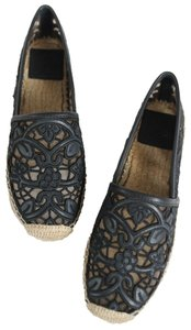 Tory Burch Navy Black 437 Flats