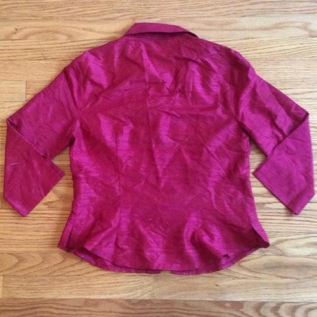 Made in Heaven Top Red Silk