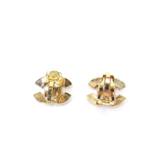 Chanel Authentic Chanel COCO Earrings