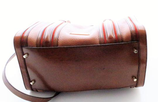 Burberry Leather Gifts Bowling Like New New Accessories Satchel in Brown