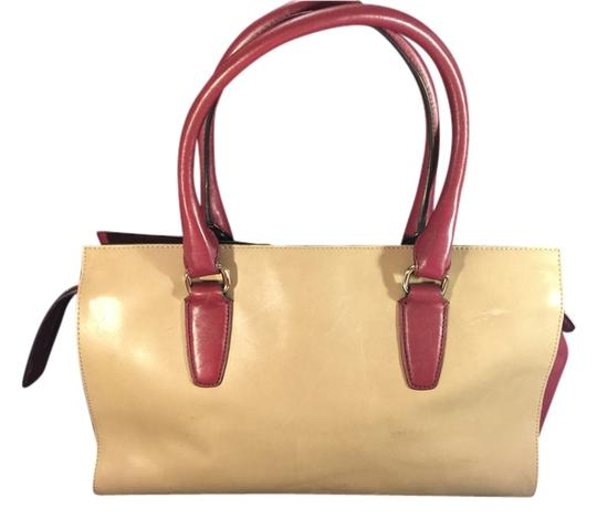 Preload https://item3.tradesy.com/images/coach-shoulder-bag-taupe-and-wine-5036992-0-0.jpg?width=440&height=440