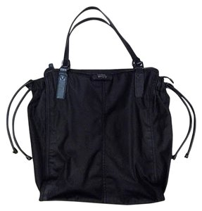 Burberry Packable Nylon Tote in Black