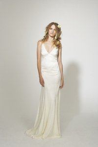 Nicole Miller Bridal New Nicole Miller Marlena Lace Doubled Face Satin Gs0007 Sz 2 Wedding Dress