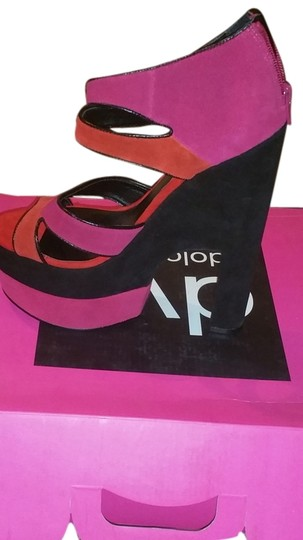 Dolce Vita multi pink,black, orange Platforms