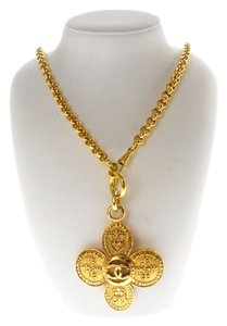 Chanel Authentic Chanel Gold Necklace