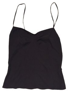 Diane von Furstenberg Silk Camisole Basic Top Black