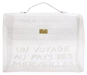 Hermès Beach Kelly Clear Beach Bag