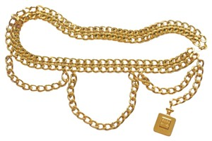 Chanel Authentic,Chanel,'s,gold,Tone,hanging,PerfumeBottleAccesoriesBelt