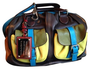 Dolce&Gabbana Satchel in Colorblock
