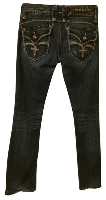 Item - Distressed Stephanie Boot Cut Jeans Size 27 (4, S)