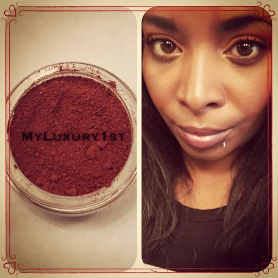 MyLuxury1st 3 gram Egyptian Red-Orange Pigmented Matte Eye shadow Powder for Eyelid