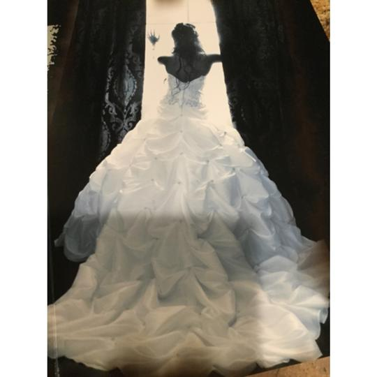 White Traditional Wedding Dress Size 4 (S)