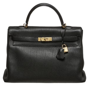 Hermès Satchel in Noir