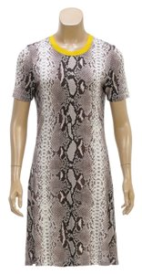 Carven short dress Gray Multicolor on Tradesy