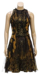 Lanvin short dress Green Multicolor on Tradesy