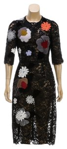 Dolce&Gabbana short dress Black Multicolor on Tradesy